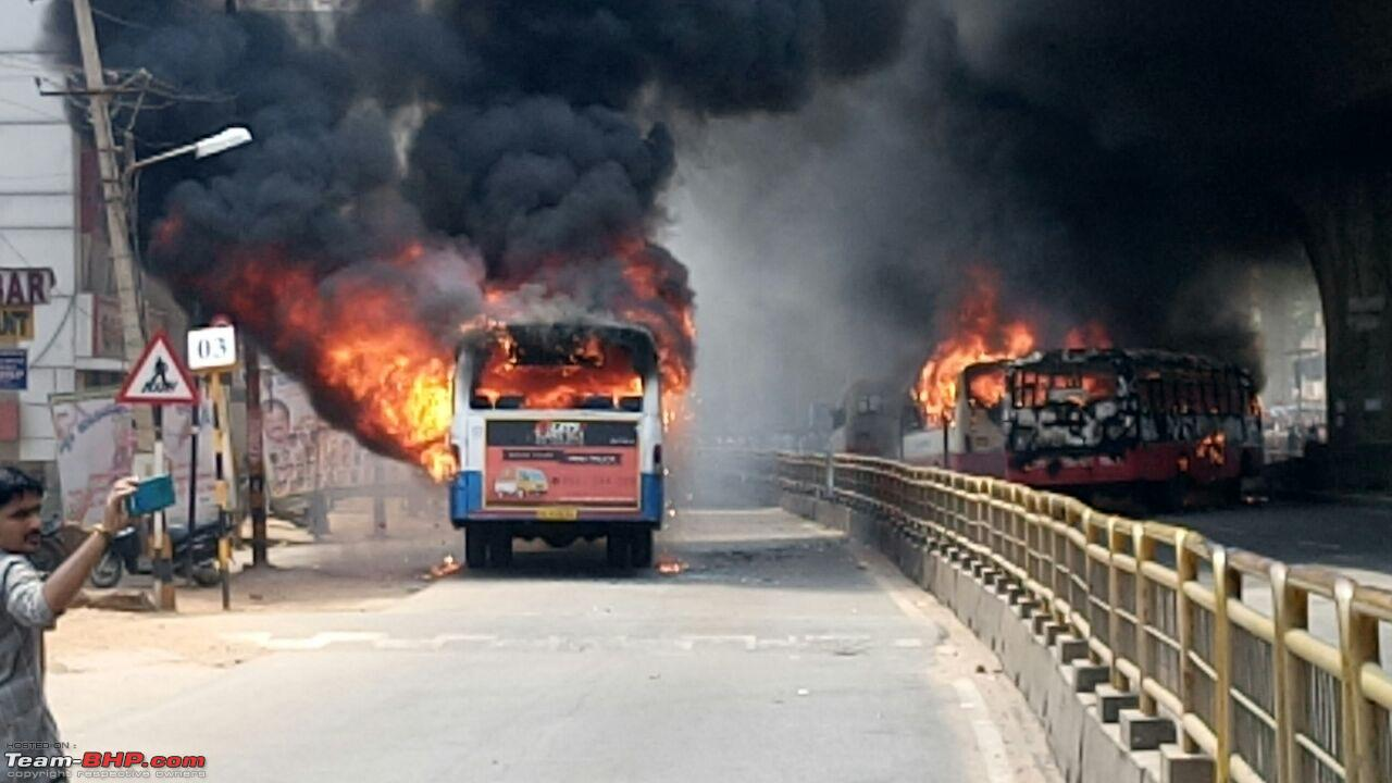 Burn as Many Buses as You Want  As Long As You Can Pay For Them!